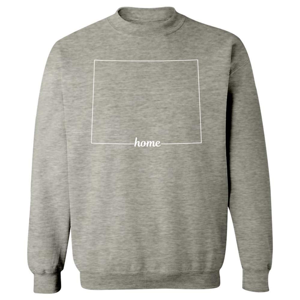 MESS Wyoming State USA Pride Home - Sweatshirt