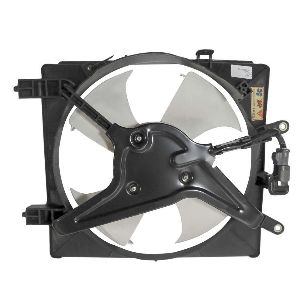 AC A//C Condenser Cooling Fan Assembly Replacement for Honda Coupe Sedan 38611-PMM-A01 AutoAndArt