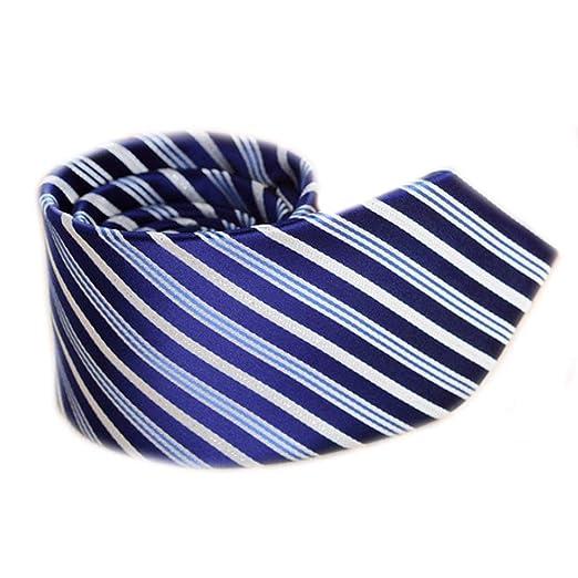 LG GL Corbata de Seda de Negocios Corbata de Corbata de Raya para ...