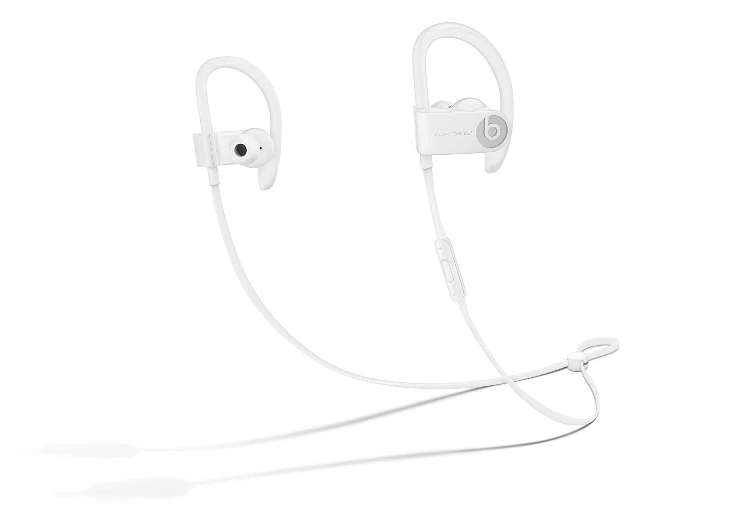 Powerbeats3 Wireless Earphones - White by Beats (Image #1)
