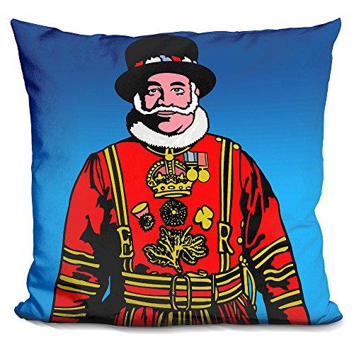 LiLiPi Pop_Art_Beefeater Decorative Accent Throw Pillow