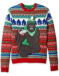 Men's Ugly Christmas Sweater Gorillas