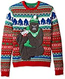 Blizzard Bay Men's Gorilla with Kittens Ugly Christmas Sweater, XX-Large