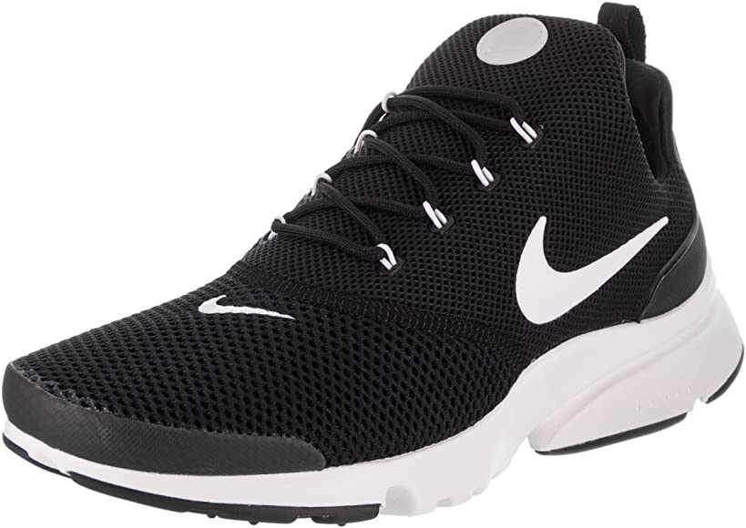 | Nike Mens Presto Fly Low Top Lace Up Trail