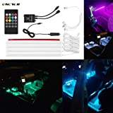 Other Wireless Remote Control Car Rgb Led Neon Interior Light Lamp Strip