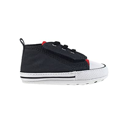 5bebc5cc6127 Converse All Star CT Easy Slip HI Crib Shoes Storm Wind Grey-Red 849954c