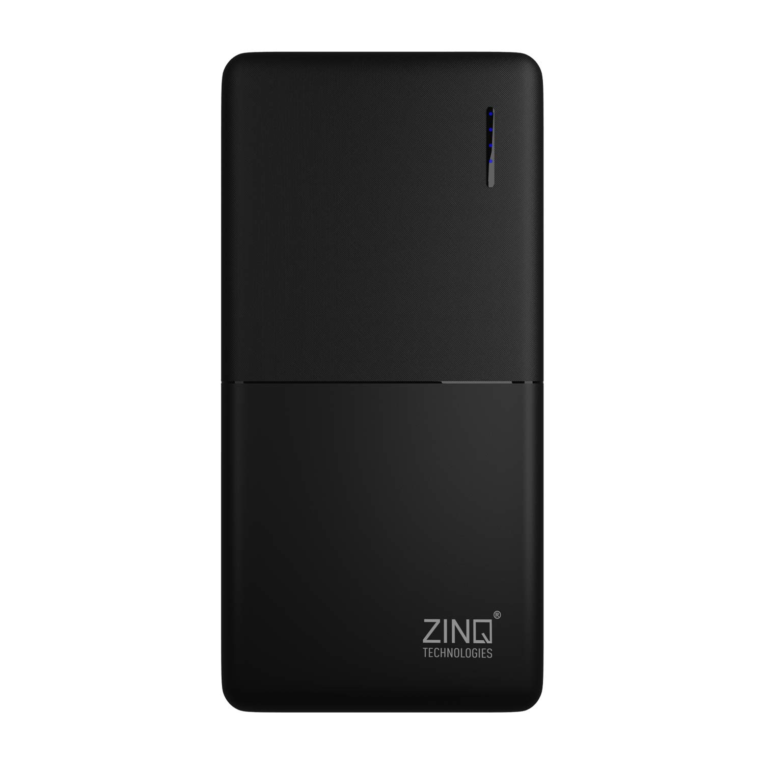 Zinq 20000mAh Li-Polymer Power Bank with 18W PD and QC 3.0 Quick Charge Z20KP (Black)