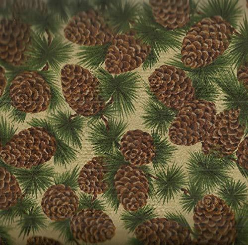 pine cone fabric - 4