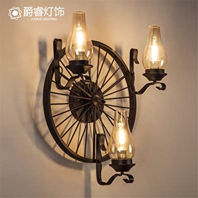 Larsure Vintage style industriel Lampe de Mur Mur lumière lampe ...