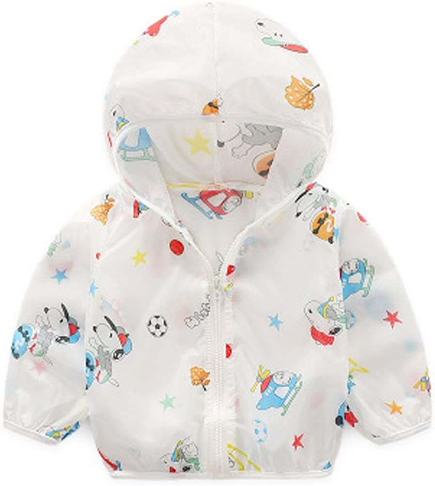 ANJUY Kid Helicopter Sunscreen Coat Baby Hoodies Outerwear Jacket