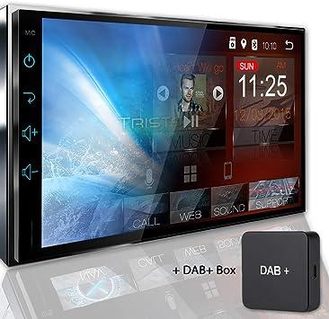 Tristan Auron Bt2d7018a Autoradio Mit Navi Dab Box Elektronik
