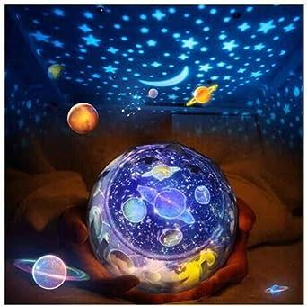 Lámpara de Proyector,FOHYLOY Noche Giratoria Proyector de Estrella ...