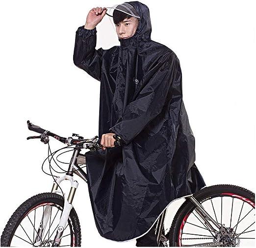 Impermeables adultos Guyuan Poncho Bicicleta Motocicleta Eléctrica ...