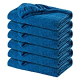 Caribbean Natural Soft Outdoor Large 90 in x 40 in Pool Side Luxury Lounge Chair Towel Cover – Soft Ring-Spun Cotton – Perfect Spas, Hotels, Homes Beaches 6 Pack Review