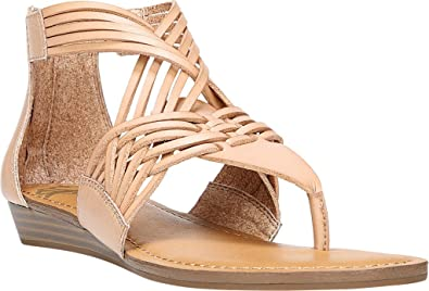 Fergalicious Womens Tizzy Split Toe Casual TStrap Sandals