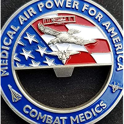 Phoenix Challenge Coins 81st Medical Group Bottle Opener Gen Corum Custom Unit Coin: Toys & Games