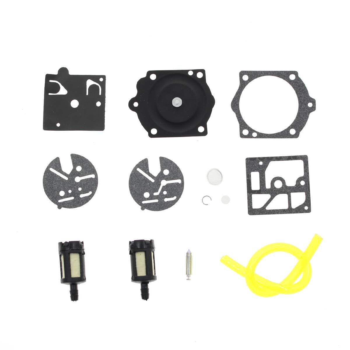 Autokay Carb Repair Kit For Walbro Hdc Homelite Ez Chainsaw Fuel Filter Super 350 360 150 60 Automotive