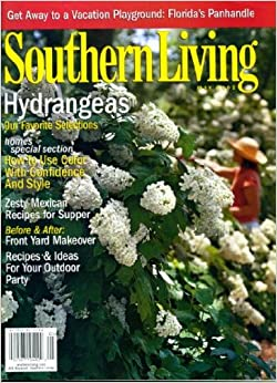 Southern living may 2003 hydranges on cover zesty mexican Southern living garden book