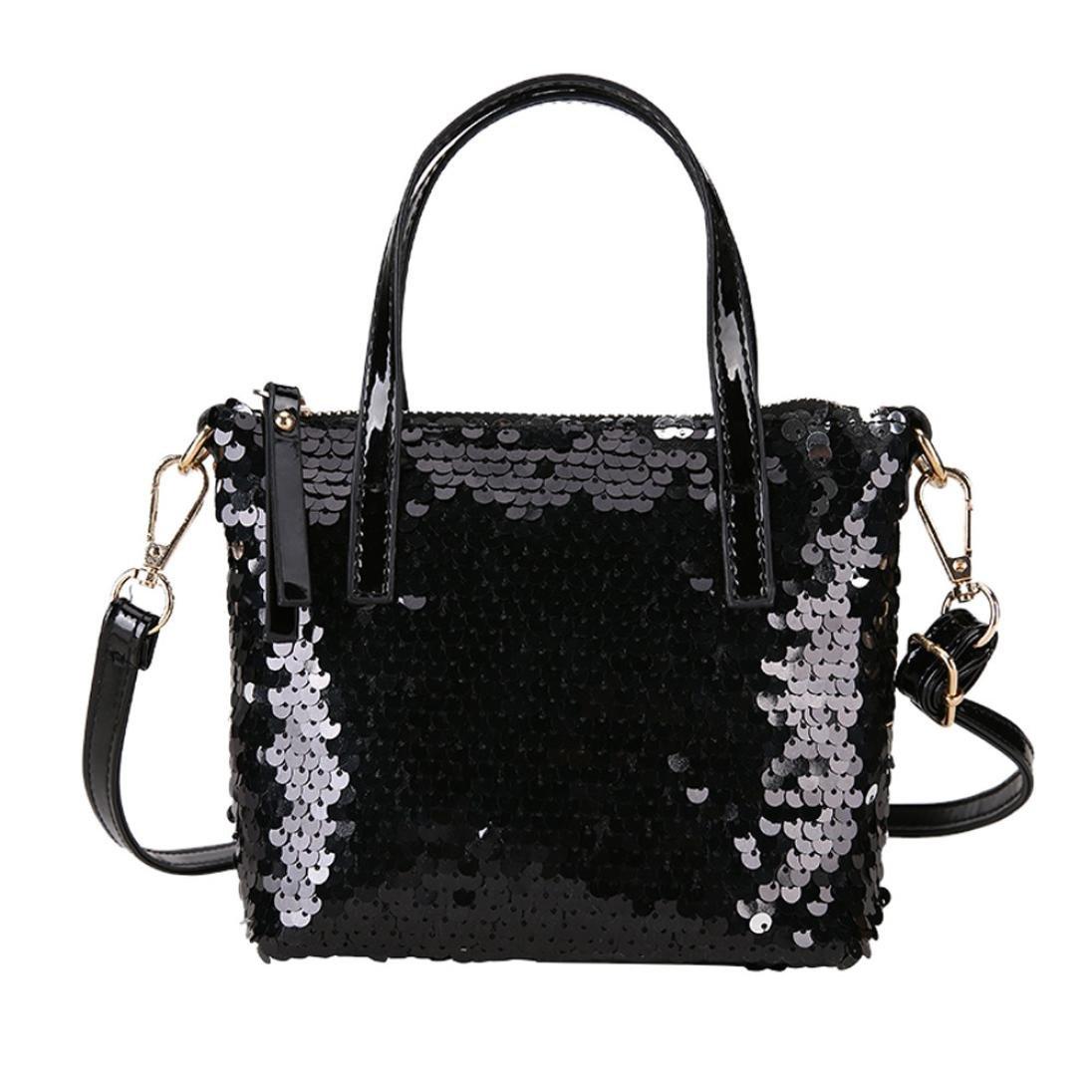 Fashion Women Sequins Chain Small Crossbody Bag Phone Bag