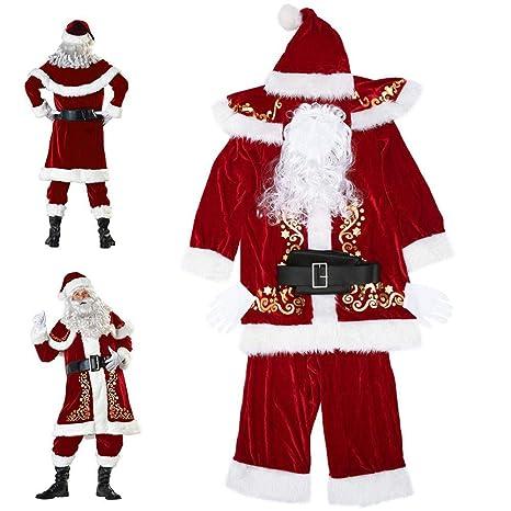 Heroine Disfraces de Papá Noel para Navidad Traje de Cosplay ...