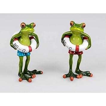 formano Frosch Surfer Deko-Figur