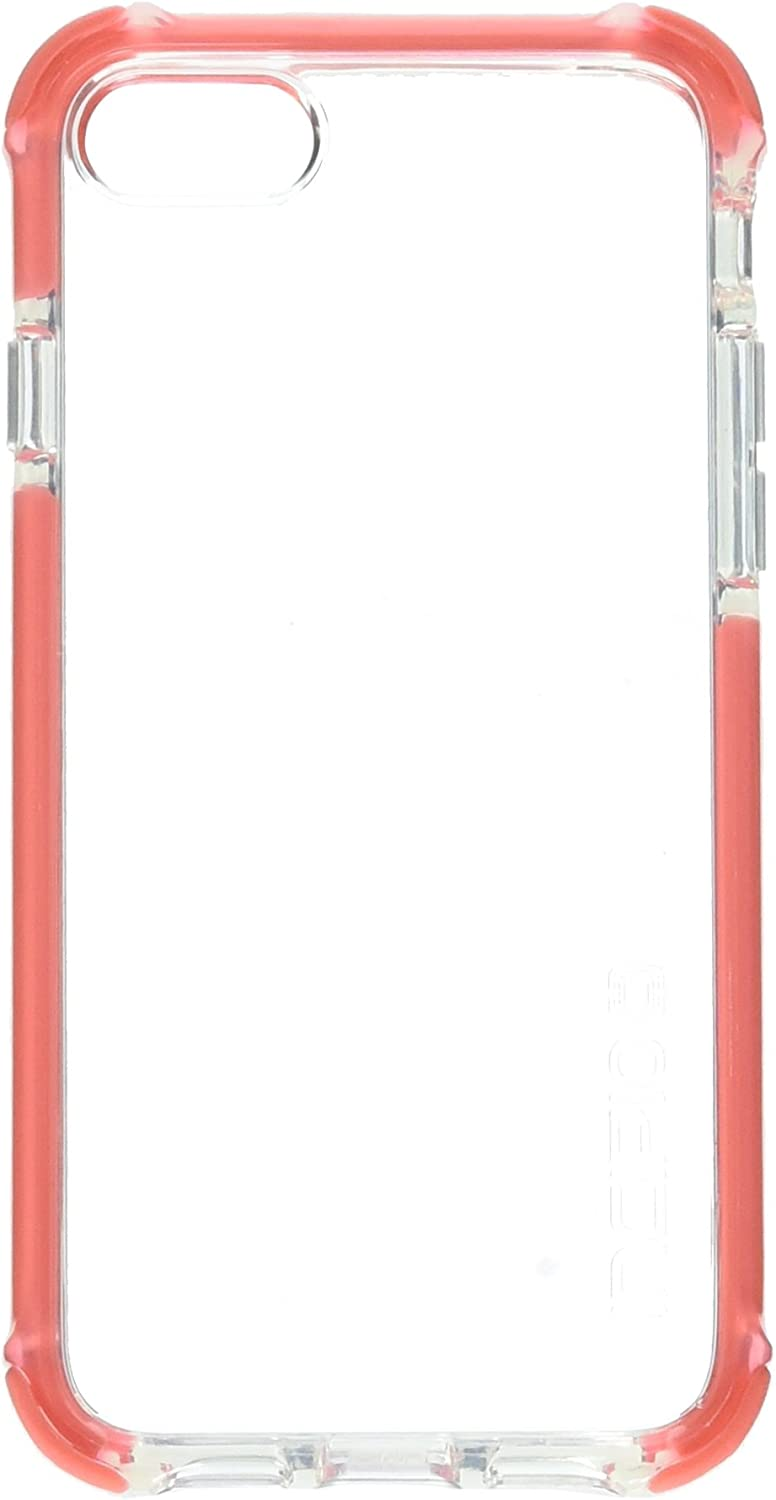 Incipio Apple iPhone 7/8 Reprieve Sport Series Case - Clear and Coral
