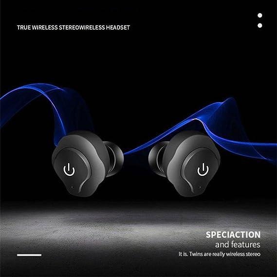 Espeedy Auriculares inalámbricos Bluetooth,Auriculares estéreo in-ear de los auriculares estéreos inalámbricos de Bluetooth de la mini TWS: Amazon.es: Hogar