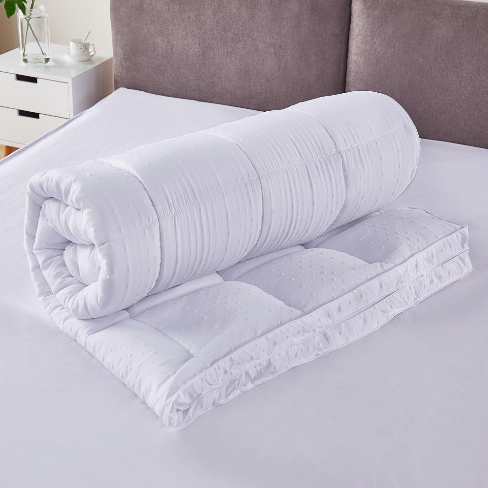 Bedecor® Colchoncillos,Colchón Topper de Microfibra,Antialérgico,Suave-(90x190/200 cm): Amazon.es: Hogar