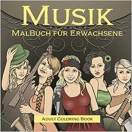 musik malbuch fur erwachsene german edition