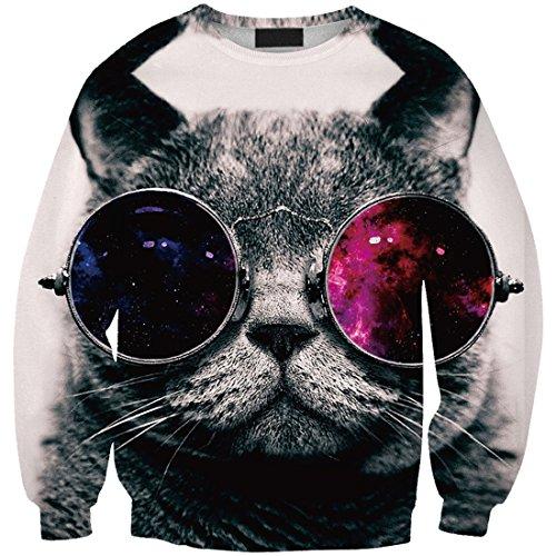 Sottile Donne Supera Ragazze Il T Felpe Tempo Cat Yichun 5 Libero shirt zxdwOZdnA