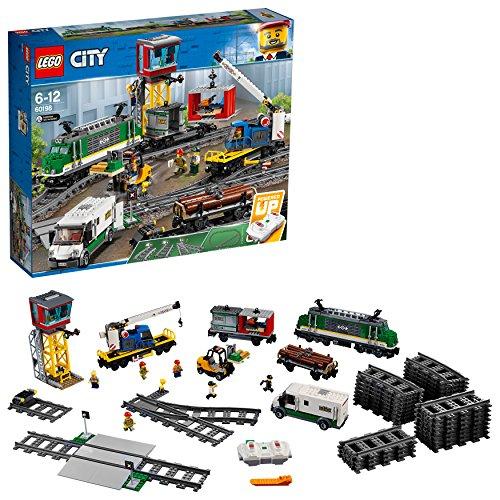 [해외] 레고 (LEGO) 시티 화물열차 60198