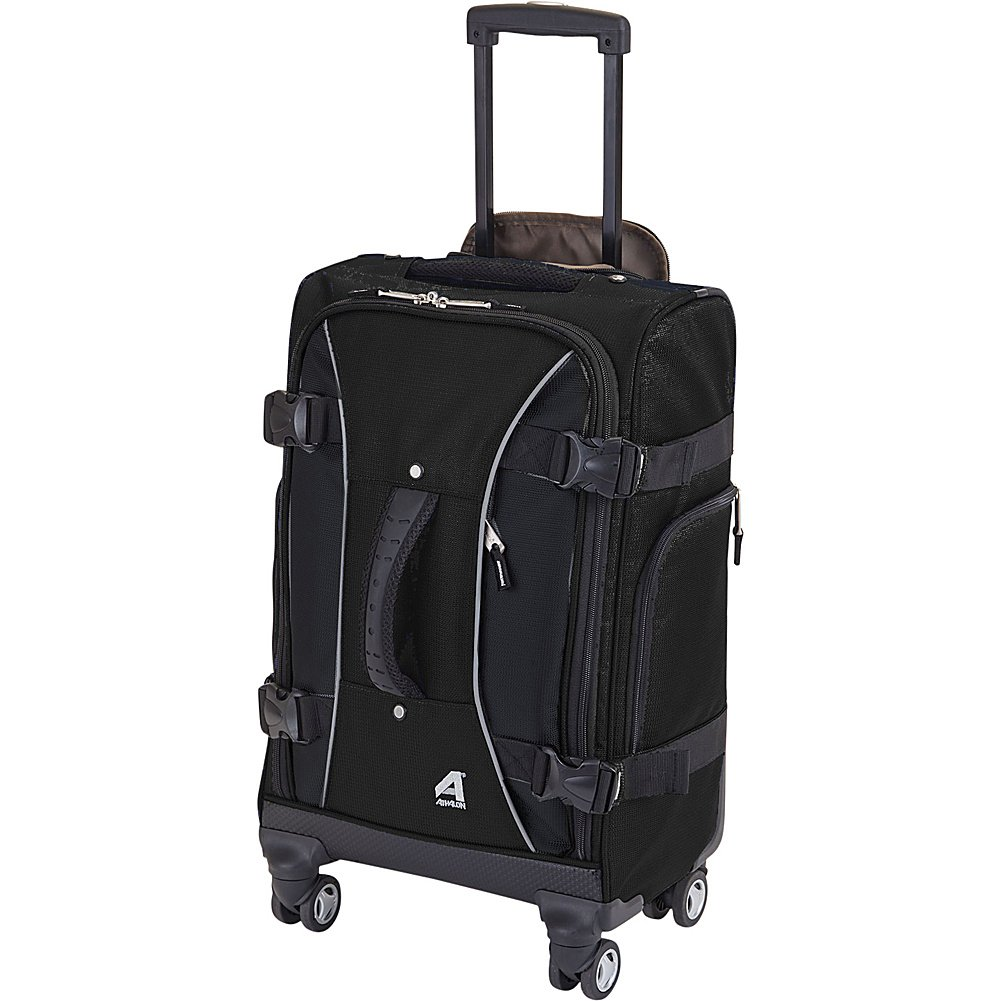 Athalon 21 Hybrid Spinner Carry-On Luggage - BerryGray Suitcases