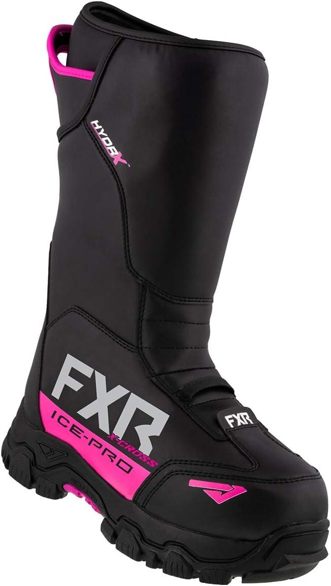 FXR X-Cross Ice-Pro Boot 2021 Black - Mens 10//Womens 12
