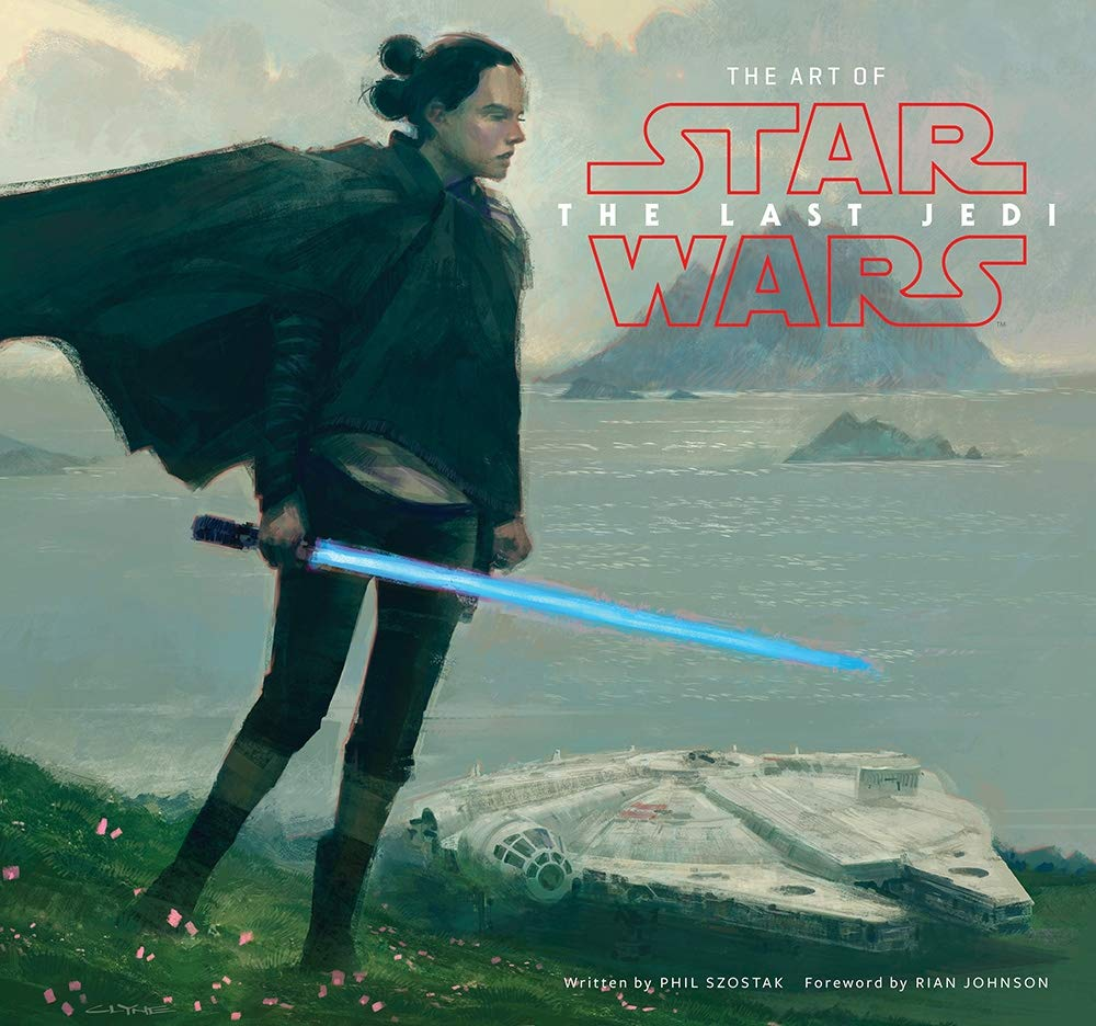 The Art Of Star Wars The Last Jedi Szostak Phil Lucasfilm Ltd Johnson Rian 9781419727054 Amazon Com Books