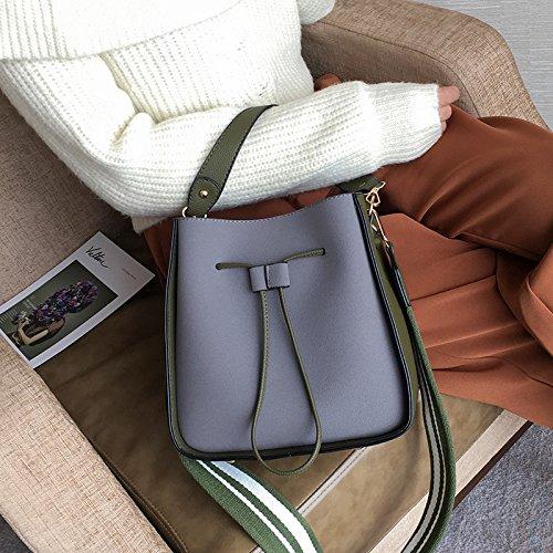 All Gules Femme Forfait Hit Bandoulière Seau Photo Larges Loisirs Hiver Otomoll Couleur Match Mode Bretelles Nouveau Sac Sac 6zqnTBx