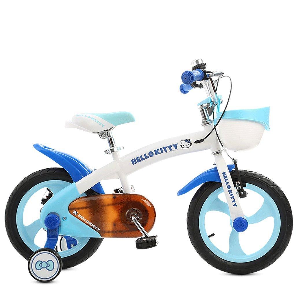 子供の自転車の赤ちゃん12/14/16インチ2-12歳の男の子と女の子赤ちゃんのベビーカーのベビーマウンテンバイク (色 : 青, サイズ さいず : 16 inches) B07D9KB7GL 16 inches|青 青 16 inches