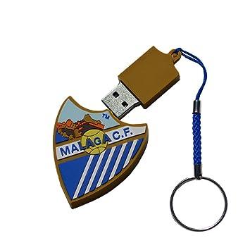 Diya Deva S.L Llavero USB 16 GB Málaga CF Producto Oficial ...