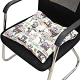 Trigle Lace Seat Cushion 40X40CM Indoor/Outdoor Garden Patio Home Kitchen Office Sofa Chair Seat Soft Cushion Pad (L)
