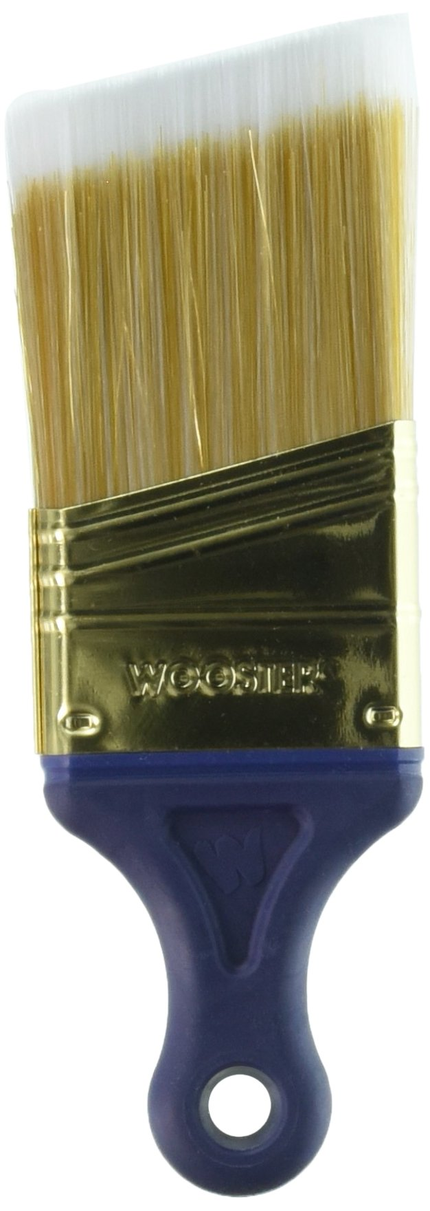 Wooster Brush Q3211-2 Shortcut Angle Sash Paintbrush, 2-Inch - Pack of 3 by Wooster Brush