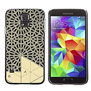 Be Good Phone Accessory // Dura Cáscara cubierta Protectora Caso Carcasa Funda de Protección para Samsung Galaxy S5 SM-G900 // Art Handicraft Carving Lace