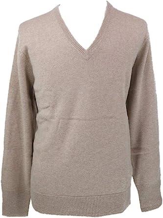 Shephe 4 Ply Men's V Neck Cashmere Sweater