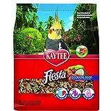 Kaytee Fiesta Max Bird Food for Cockatiels, 4-1/2-Pound