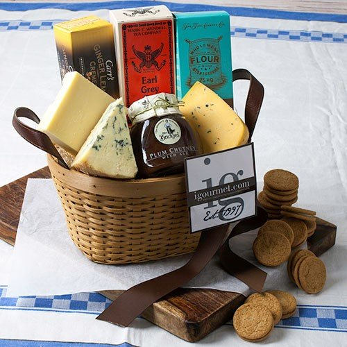British Classic Gift Basket (3.4 pound) (British Gift Basket)