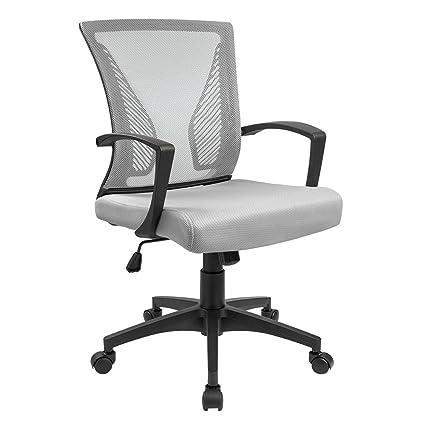 Furmax Office Chair Mid Back Swivel Lumbar Support Desk Chair Computer Ergonomic Mesh Chair with  sc 1 st  Amazon.com & Amazon.com: Furmax Office Chair Mid Back Swivel Lumbar Support Desk ...