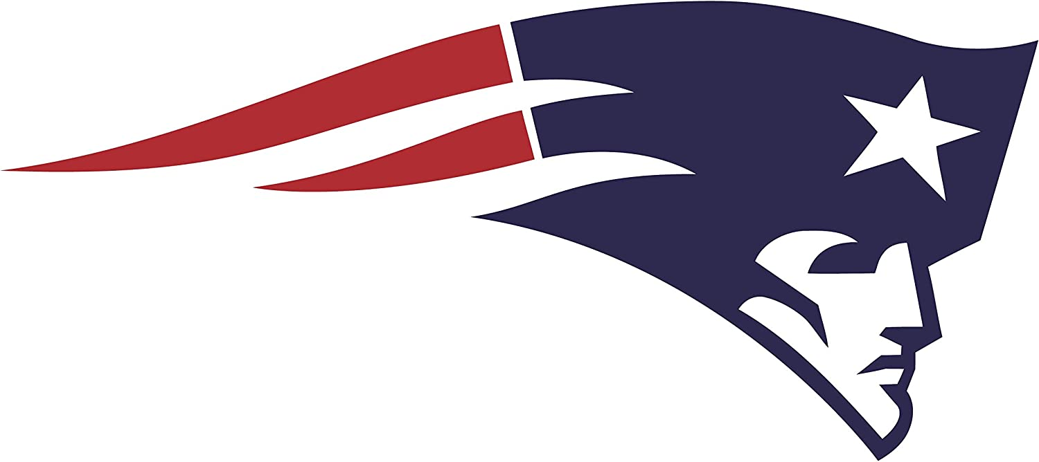 Patriots Decal Football Team Sticker for laptops & Cars