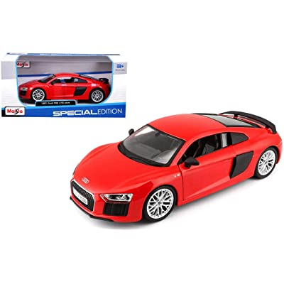 Maisto 1:24 Scale Audi R8 V10 Plus, Colors May Vary: Maisto: Toys & Games
