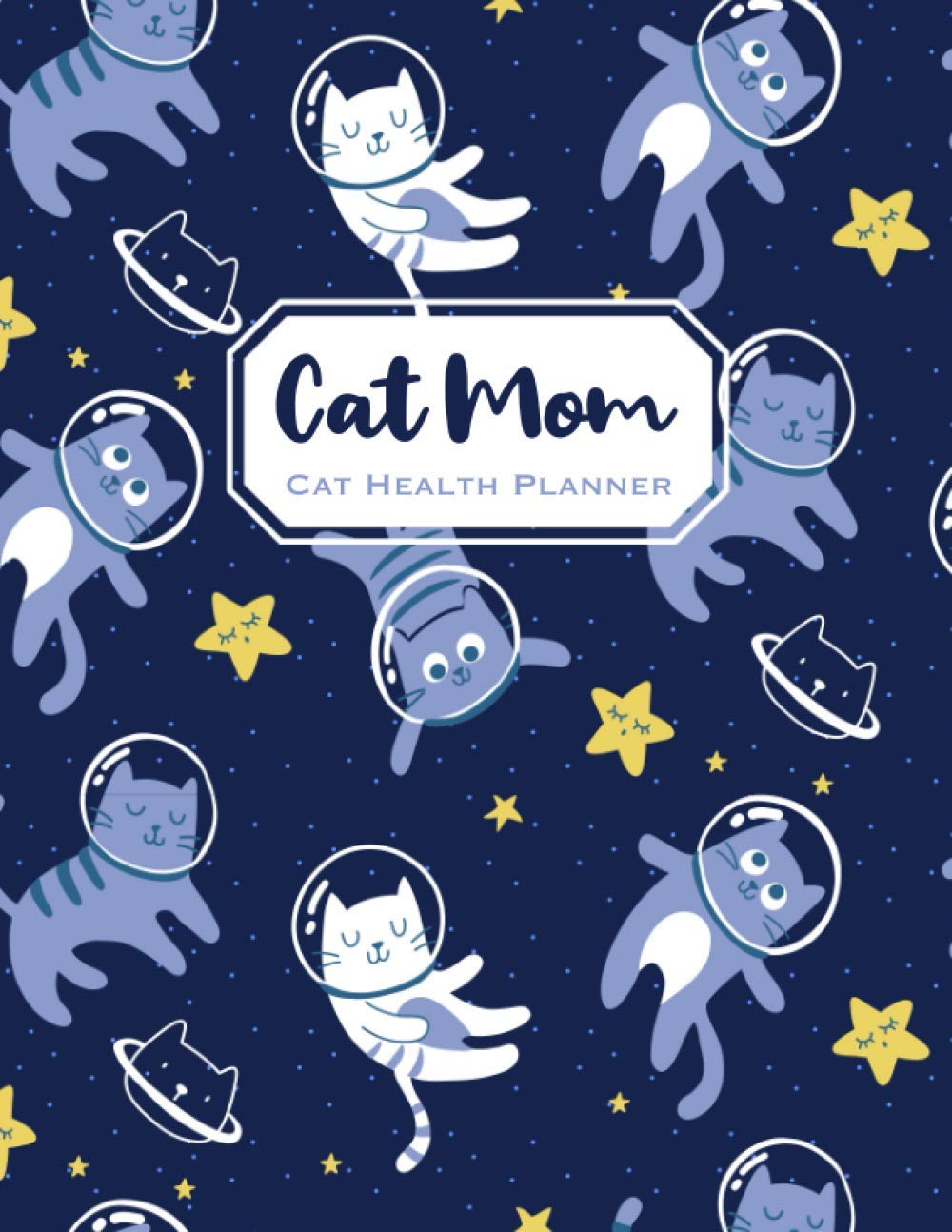 Cat Mom Cat Health Planner: Cat Health Log Book Pet Medical Record Book Cat Vaccination Journal
