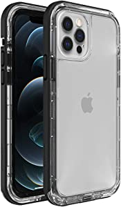 LifeProof Next Series Case for iPhone 12 & iPhone 12 Pro - Black Crystal (Clear/Black)