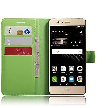 Apanphy Funda Huawei P9 Lite, Tapa de Cuero de La PU Case de la ...