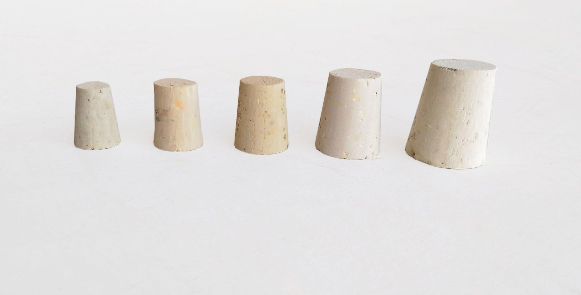 Small bag of Mixed Regular Length (RL) Natural Tapered Corks Bag of 45 (RL04, RL05, RL06, RL08, RL10) by Jelinek Cork Group (Image #2)